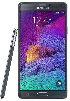Samsung galaxy note 4 100% ultra copy (black/white) (mtk 6572T) (android 4.4) (8 mpx)